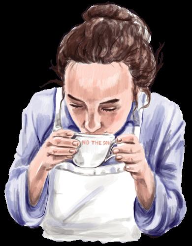 AND THE SOIL.のコールドブリューコーヒー